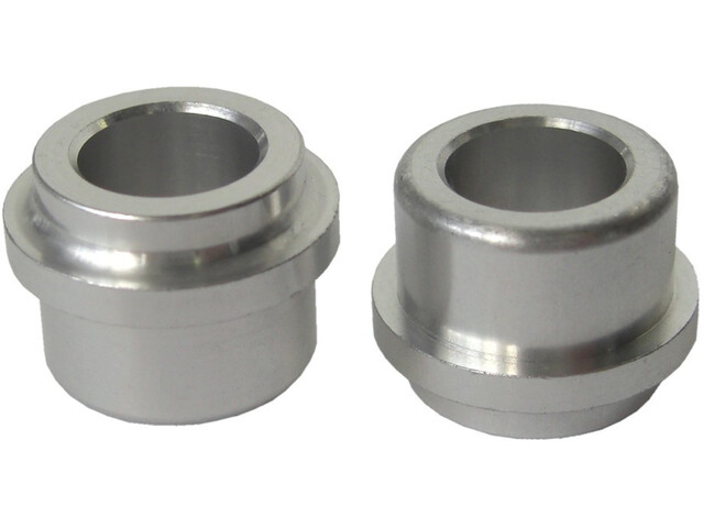 SR Suntour Aluminium Bushings voor 28mm dikte / 12,7mm zilver